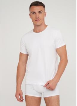 Класична чоловіча футболка Adam 49/409/010 (білий)