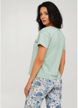 Комплект піжами з футболкою і штанами OLIVE 5112/101