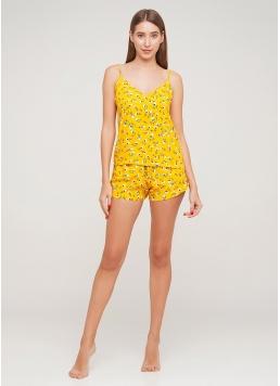 Жіноча піжама з квіточками SUMMER FLOWERS 6018/040 Giulia