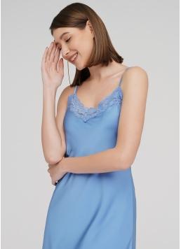 Нічна сорочка HELENA 8013/051 (блакитний) Giulia