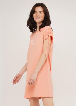 Коротка нічна сорочка з бавовни ROSE 8107/010 Giulia