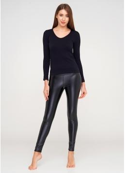 Жіночі легінси з еко-шкіри LEATHER LEGS 4310/090 Giulia