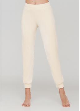 Жіночі велюрові штани SOFT WINTER 4308/080 (ванільний)