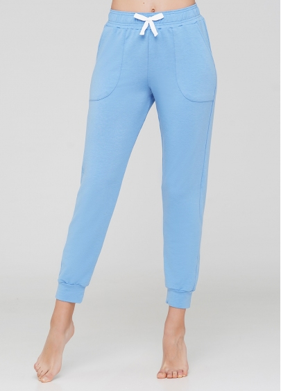 Бавовняні спортивні штани SPORT PANTS 4301/010 (блакитний)