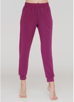 Бавовняні спортивні штани SPORT PANTS 4301/010 (фуксія)