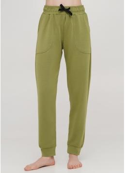 Бавовняні спортивні штани SPORT PANTS 4301/010 (хакі)