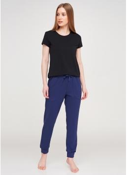 Бавовняні спортивні штани SPORT PANTS 4301/010 navy (синій)