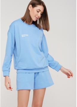 Бавовняні шорти SPORT SHORTS 4202/010 (блакитний)