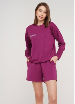 Бавовняні шорти SPORT SHORTS 4202/010 (фуксія)