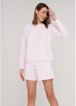 Жіночий спортивний світшот SWEATSHIRT SPORT 4408/010 (ніжно-рожевий)