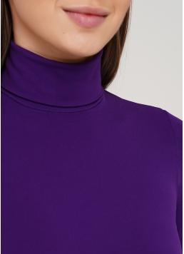 Жіноча безшовна водолазка з високим коміром DOLCEVITA MANICA LUNGA (фіолетовий)