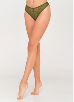 Жіночі мереживні трусики Albina 2309/21 (зелений)