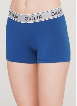 Жіночі бавовняні трусики COTTON FIT 2401/60 (темно-синій) Giulia