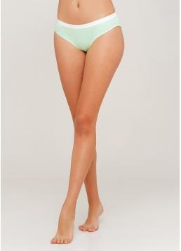 Бавовняні жіночі трусики Elegia 2304/60 (зелений)