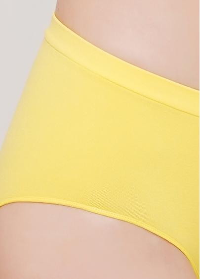 Безшовні труси напівшортики HIPSTER BRIEFS COLOR (жовтий)