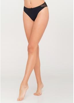 Жіночі трусики бразиліана Instinct 2206/21 (чорний) Giulia