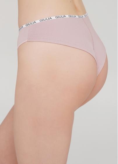 Жіночі трусики бразиліана Logo 2206/60 (ніжно-рожевий)