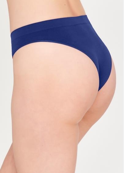 Безшовні бразиліана SLIP BRASILLIANA INVISIBLE (синій) Giulia