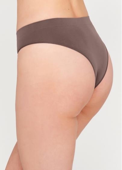 Безшовні бразиліана SLIP BRASILLIANA INVISIBLE (коричневий)