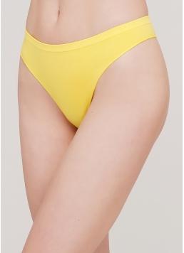 Безшовні стрінги STRING BRIEFS COLOR (жовтий)
