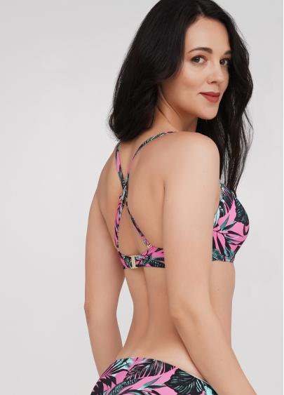 Купальний бюстгальтер з push-up Isida Swim 1102/20 (фіолетовий) Giulia