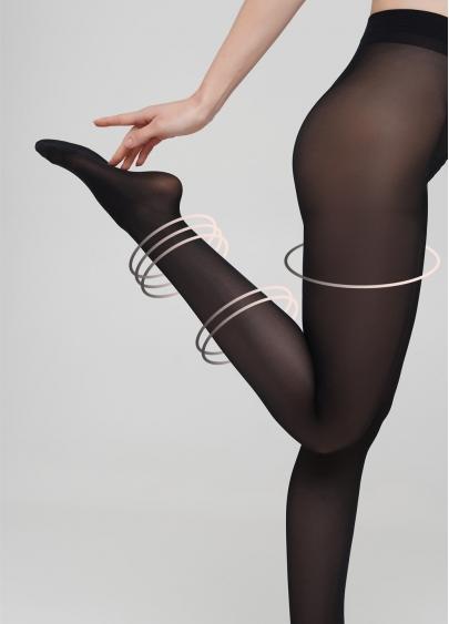 Компресійні колготки преміум TOP FIT 40 Evita schwarz (чорний)