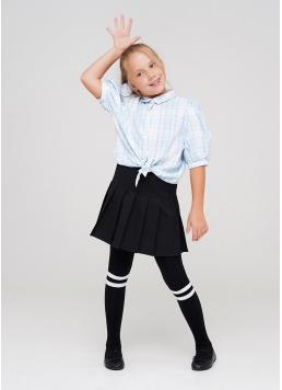 Дитячі бавовняні колготки з смужками D048 TEEN GIRL Giulia