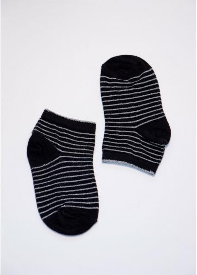 Теплі дитячі шкарпетки в смужку KLM-002 calzino Giulia