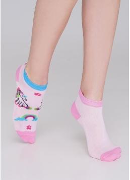 Дитячі шкарпетки з єдинорогами KS1M-001/(2) calzino (KSS KOMPLEKT-001 (2 пари)