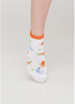 Дитячі короткі шкарпетки KS2 MARINE 002 (білий) Giulia