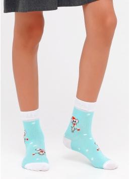 Новорічні дитячі шкарпетки KS2C-NEW YEAR-006 Giulia