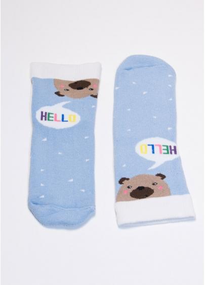 Шкарпетки дитячі з малюнком KS2C / Te-004 Giulia