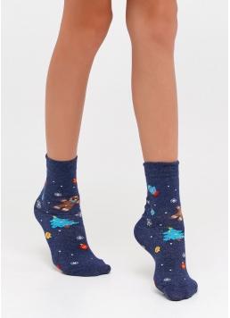 Дитячі новорічні шкарпетки KS2M-NEW YEAR-005 Giulia