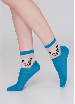 Дитячі шкарпетки зі вставками з мононитки KS3 CRISTAL LUREX 001 Giulia