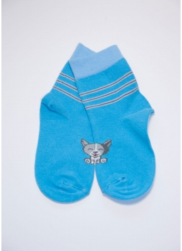 Шкарпетки дитячі з бавовни KSL-002 calzino Giulia