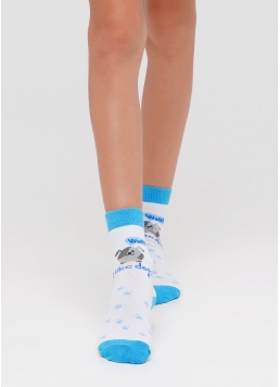 Дитячі шкарпетки з бавовни KSL-006 calzino Giulia