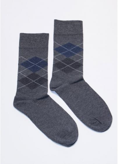 Бавовняні шкарпетки чоловічі COMFORT MELANGE-02 calzino Giulia