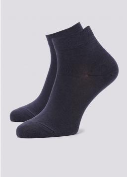 Чоловічі шкарпетки укорочені MS2 SOFT PREMIUM CLASSIC (сірий) Giulia