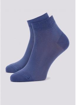 Чоловічі шкарпетки укорочені MS2 SOFT PREMIUM CLASSIC (синій) Giulia