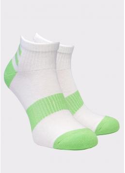 Чоловічі короткі шкарпетки MS2C/Sp-002 (MSM SPORT-02 calzino) (зелений)