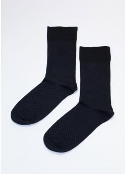 Високі чоловічі шкарпетки MS3 SOFT COMFORT 003 (M) [MS3M / Sl-003] black (чорний)