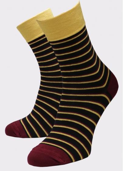 Чоловічі високі шкарпетки з малюнком MS3 SOFT FASHION 056 (пак х2) Giulia