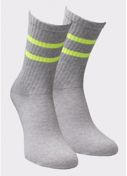 Високі чоловічі шкарпетки MS3 SOFT NEON 002 Giulia