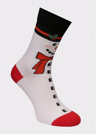 Кольорові новорічні шкарпетки чоловічі MS3 SOFT NEW YEAR 20-01 Giulia