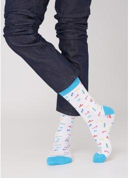 Шкарпетки з малюнками чоловічі MS3C-018 (MSL-018 (2 р-ра) calzino) Giulia