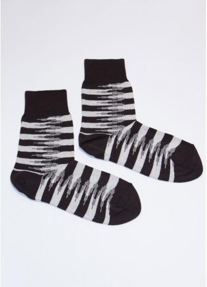 Смугасті шкарпетки чоловічі MS3C-047 Giulia