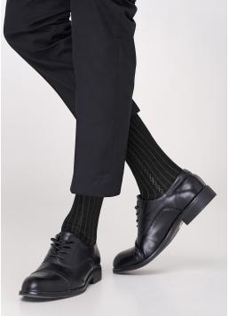 Шкарпетки чоловічі з принтом MS3C / Sl-101 black (чорний)