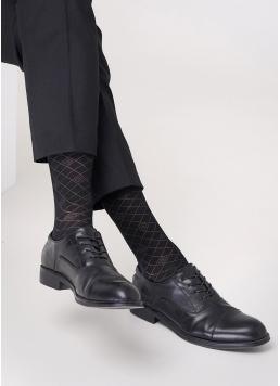 Чоловічі шкарпетки з принтом MS3C / Sl-203 (ELEGANT 203 calzino) Giulia