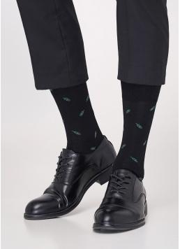Шкарпетки чоловічі з малюнком MS3C / Sl-306 (ELEGANT 306 calzino) Giulia