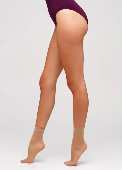 Класичні жіночі шкарпетки з мікрофібри EASY 40 den з широкою резинкою Giulia